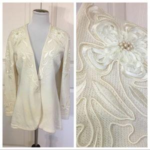 St. John Evening knit jacket